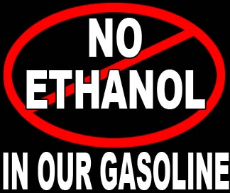 No ethanol in our gasoline